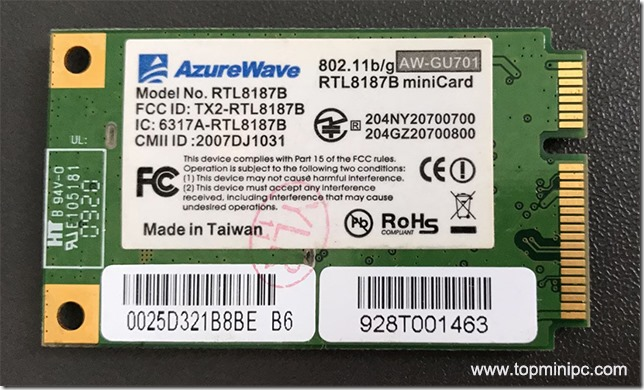 Azurewave Aw Gu701 Rtl8187b Minicard Hystou Mini Pc Tech Support Blog