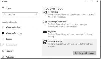 Network-Adapter-Troubleshooter